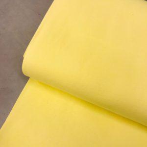 Boordstof pastel geel