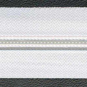 Spiraalrits op rol maat 5 wit