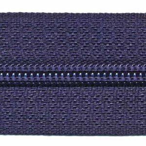 Spiraalrits op rol maat 5 donkerblauw