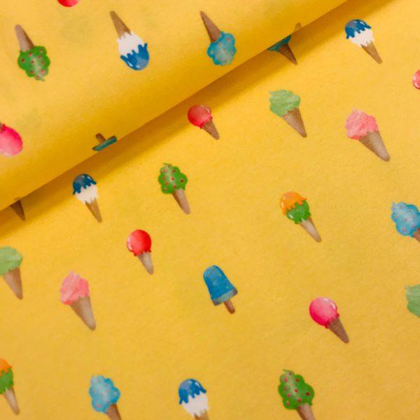 Tricot Ice creams yellow