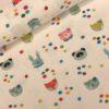 Tricot confetti/animals