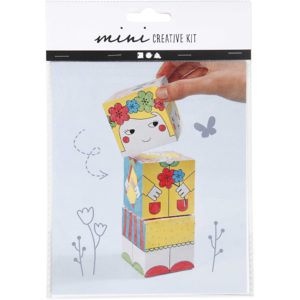 Mini creative set Stapeltoren Girl
