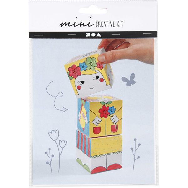Mini creative set Stapeltoren Girl