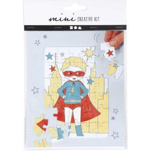 Mini creative set Puzzel Hero