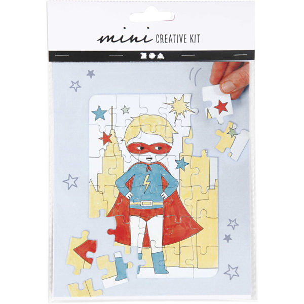Mini creative set Puzzel Hero