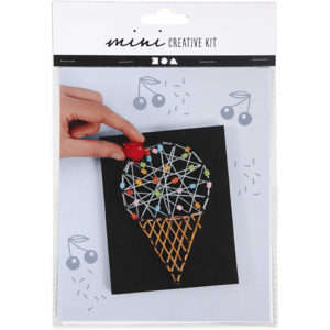 Mini creative set Stringart ijsje