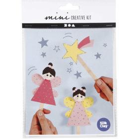 Mini creative set ijstokjesfiguur girl