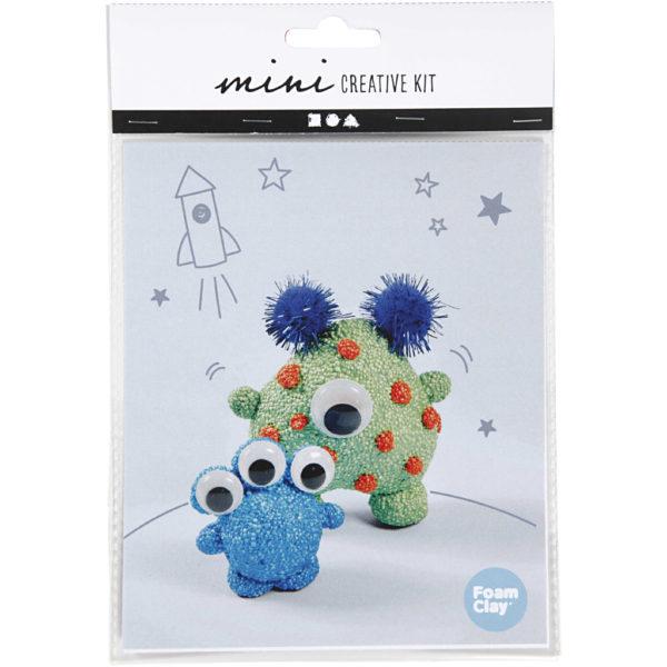 Mini creative set boetseren alien