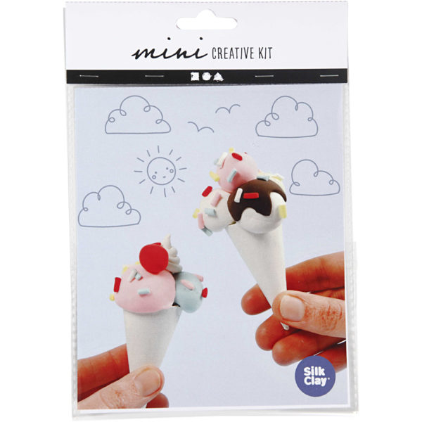 Mini creative set boetseren ijsje