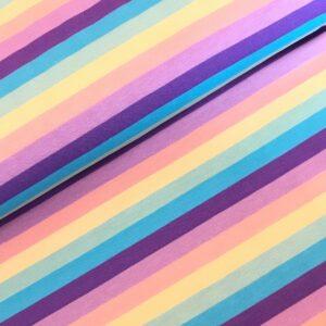 Tricot stripes pastel