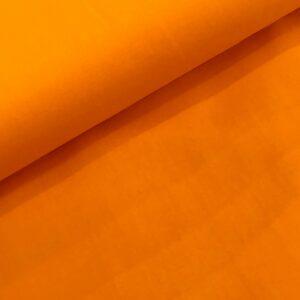 Katoen effen warm geel