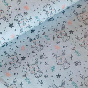 Katoen grijs Bunny