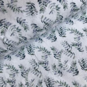 Tricot eucalyptus wit