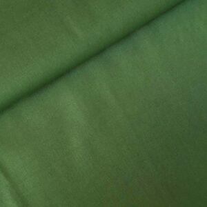 Katoen effen groen