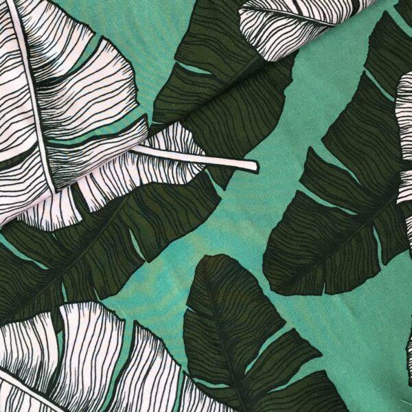 Viscose Leaves green