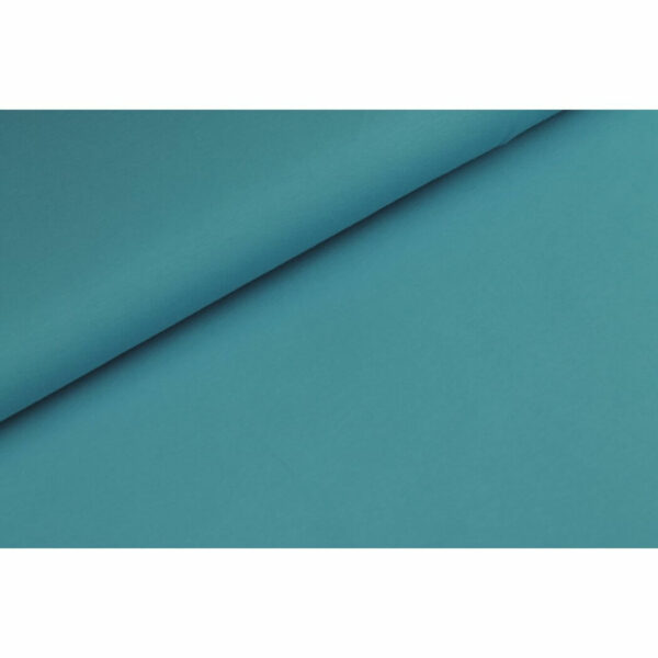 Tricot effen turquoise
