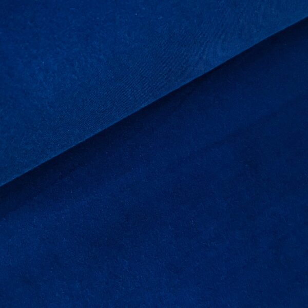 Effen sweater kobalt blauw