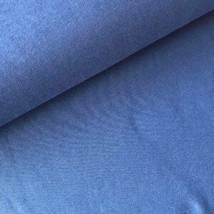Effen sweater jeansblauw