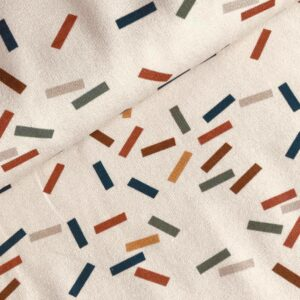 French terry Confetti