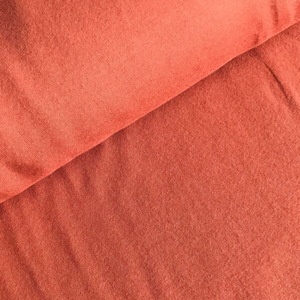 Effen sweater warm oranje