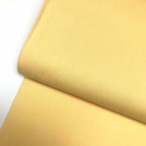 Katoen effen pastel geel
