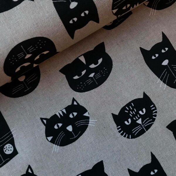 Canvas Black cats