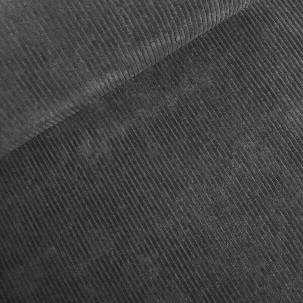 Corduroy stretch grijs