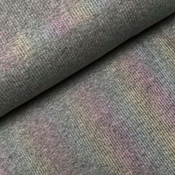 Happy fleece sweater Glitter