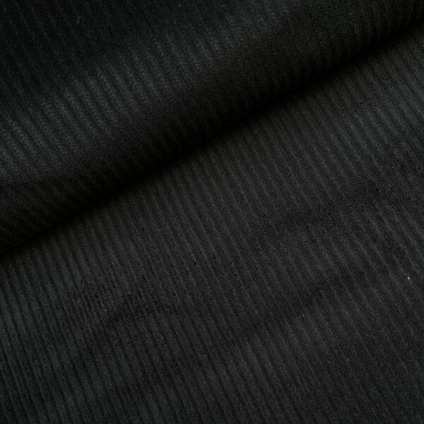 Corduroy zwart