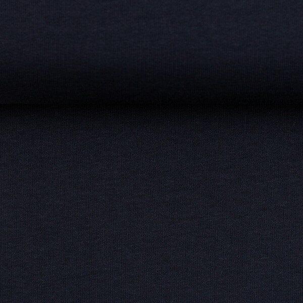 Sweater effen donkerblauw