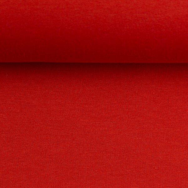 Effen sweater rood