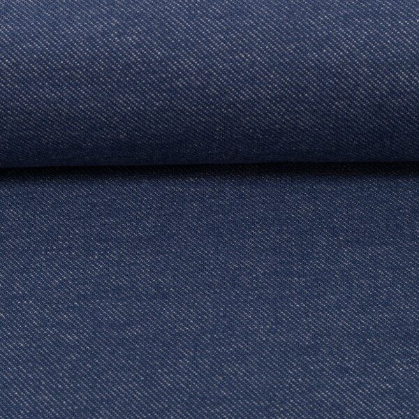 Tricot jeanslook blue