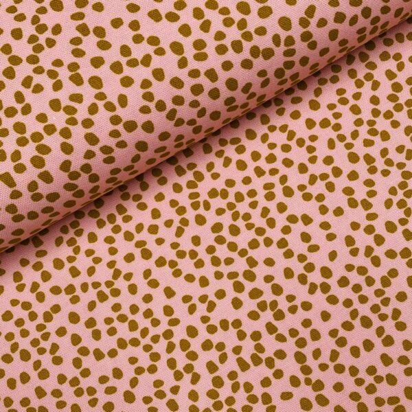 Canvas Dots roze