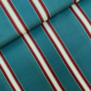 Viscose stripes green