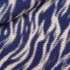 Viscose Tiger beige/navy