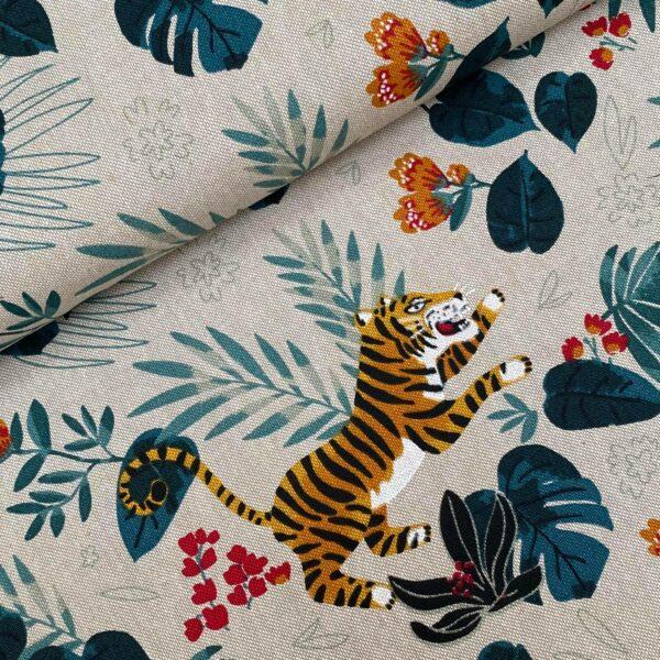 Canvas Tiger