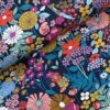 Tricot Tropical flowers