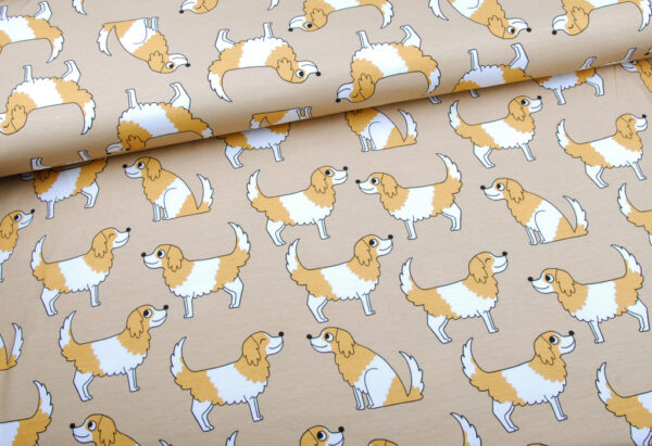 Eva Mouton Doggy beige Tricot