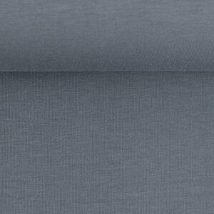 Effen tricot jeans blauwgrijs