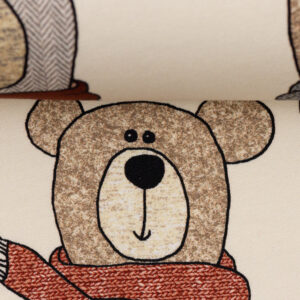 French terry sweet bears