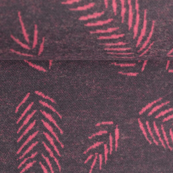 Jaquard Twigs pink