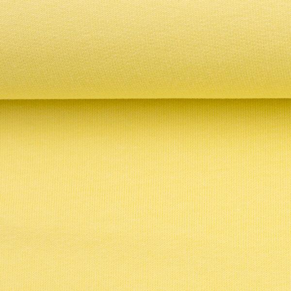 Effen sweaterpastel geel