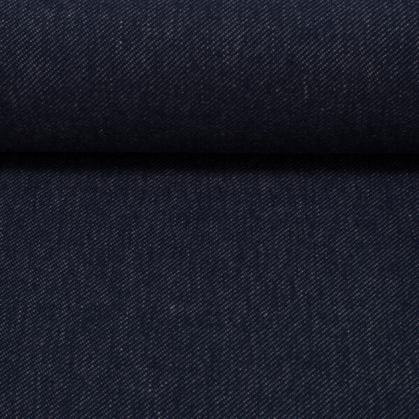 Jeanstricot donkerblauw
