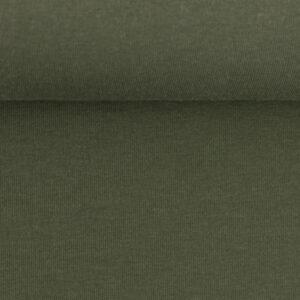 Effen sweater olijf groen
