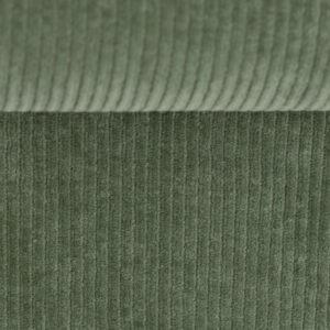 Corduroy stretch olijf groen