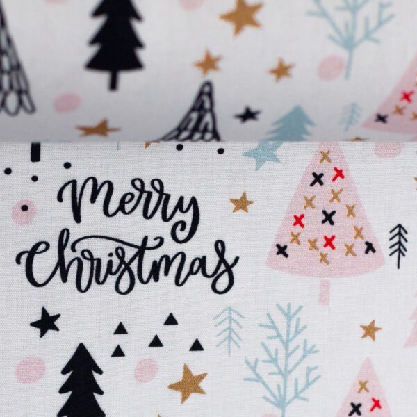 Katoen Merry Christmass white