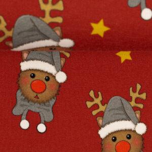French terry Happy Rudolf